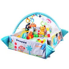Duża Mata dla dziecka 5w1 kojec plac zabaw ZA3493 Blue