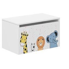 Žaislų dėžė Wooden Mini Zoo