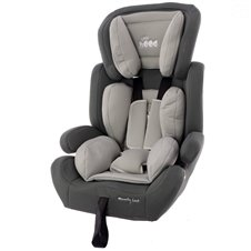 Automobilinė kėdutė Euro Vaikas Little hood mxz-ef šviesiai pilka 9-36 kg