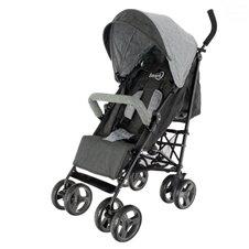 Skėtuko formos vežimėlis Euro Vaikas Smart Pro Juodas