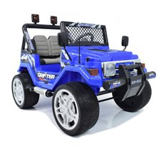 Elektromobilis ST JEEP DRIFFTER HP-011 Leather Blue