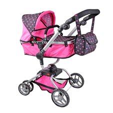 Lėlių vežimėlis ST 9623 Hot Pink