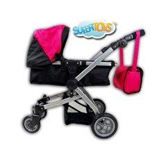 Lėlių vežimėlis ST 9651B New Hot Pink