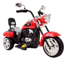 Elektromobilis motociklas ST CHOPPER SH618 Red