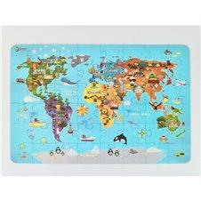Dėlionė pasaulio žemėlapis CLASSIC WORLD