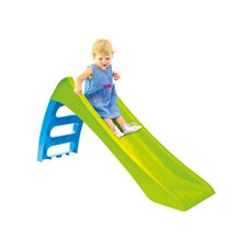 WOOPIE Zjezdzalnia Ogrodowa dla Dzieci ze slizgiem Wodnym Fun Slide 116 cm Zielona