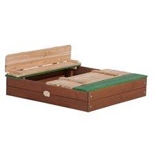 Medinė smėlio dėžė su suoliukais Ella Sandpit AXI