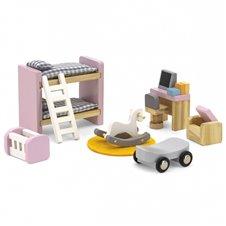 Lėlių namelio baldai vaiko kambariui VIGA
