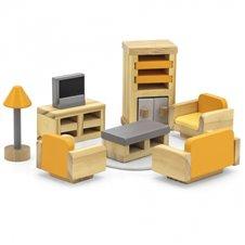 Lėlių namelio baldų komplektas svetainei VIGA
