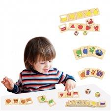 Edukacinis žaidimas rūšiavimo spalvos ir formos VIGA