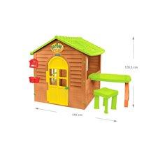 Sodo namelis su stalu ir kėdute MOCHTOYS