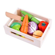 Medinių daržovių rinkinys dėžutėje PTP03568
