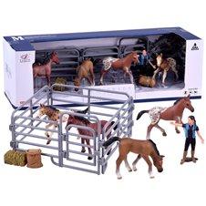Arklių fermos figūrėlių rinkinys PTP02993-B