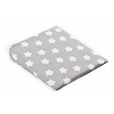 Klin pagalvės užvalkalas 38x30 ŽVAIGŽDUTĖS pilkas