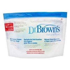 Sterilizavimo maišeliai Dr Browns 960