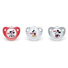 Čiulptukas NUK Mickey Mouse 0-6mėn 1vnt 730325