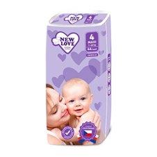Vienkartinės sauskelnės New Love Premium comfort 4 MAXI 7-18 kg 44vnt