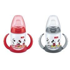 Buteliukai NUK Mickey Mouse Minnie Raudonas Pilkas 150ml 6mėn+ 2VNT. 743829