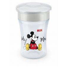 Puodelis NUK su dangteliu 360° Mickey Mouse 230ml 8mėn+  255425