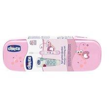 Dantų priežiūros Chicco rinkinys rožinis 047376