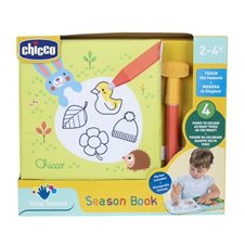 Knyga Chicco 4 sezonai 138951