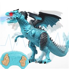 Nuotoliniu būdu valdomas dinozauras su garsais KX