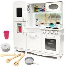 Medinė virtuvė su daugybe aksesuarų KX