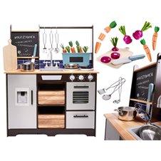 Medinė virtuvė su aksesuarais KX