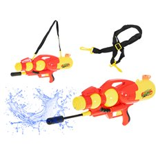 KX Pistolet na wodę wyrzutnia wodna 2400ml czerwony