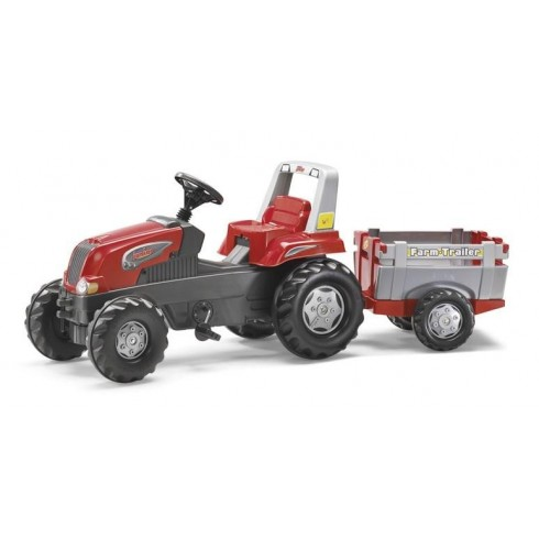 Трактор На Педалях  Rolly Toys 800261 Junior Rt