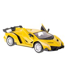 Automobilis KX Lamborghini geltonas