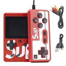 Mini konsolė žaidimams KX Raudona
