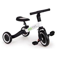 3 ratų balansinis dviratis Eco Toys 4in1 Baltas