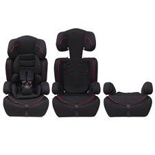 Automobilinė kėdutė Eco Toys Bauerkraft 9-36 kg Juoda