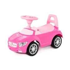 Paspiriamoji mašina Eko Žaislas Super Car rožinis greitis