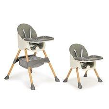Maitinimo kėdutė Eko Žaislas 2in1 Grey