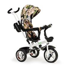 Vežimėlis dviratis Eco Toys 360° Žalias