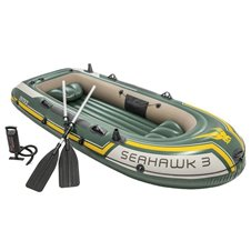 Pripučiama valtis INTEX su pompa Seahawk 3 68380