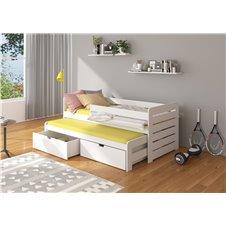 Dvivietė lova Tomi su apsauga 200x90