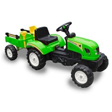 Minamas traktorius ST su priekaba TR3001 Green