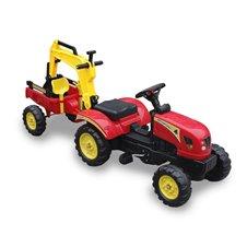 Minamas traktorius ST su priekaba TR3007 Red