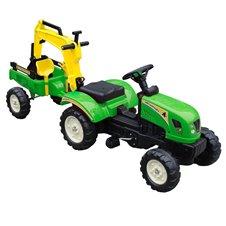 Minamas traktorius ST su priekaba TR3007 Green