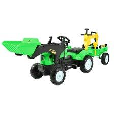 Minamas traktorius ST su priekaba ir kaušu TR3009 Green
