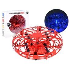 Dronas UFO Valdomas ranka RC0512 Red