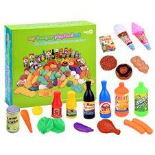 Žaisliniai maisto produktai JOK Play Food 120vnt PTP03382