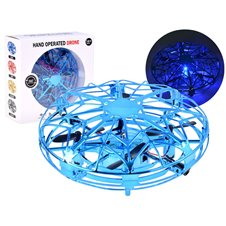 Dronas UFO Valdomas ranka RC0512 Blue