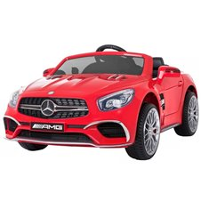 Elektromobilis JOK su pulteliu Mercedes SL65 AMG PTP00232 Red