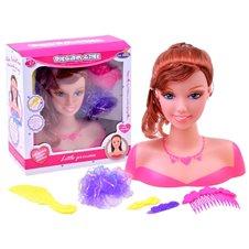 Lėlė šukuosenoms JOK su aksesuarais Dream Girl PTP02581