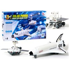 Edukacinis saulės energijos rinkinys JOK Space Fleet 3in1 PTP02360