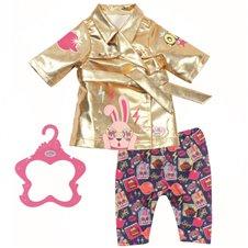 Gimtadienio drabužių rinkinys lėlei Baby Born 43cm